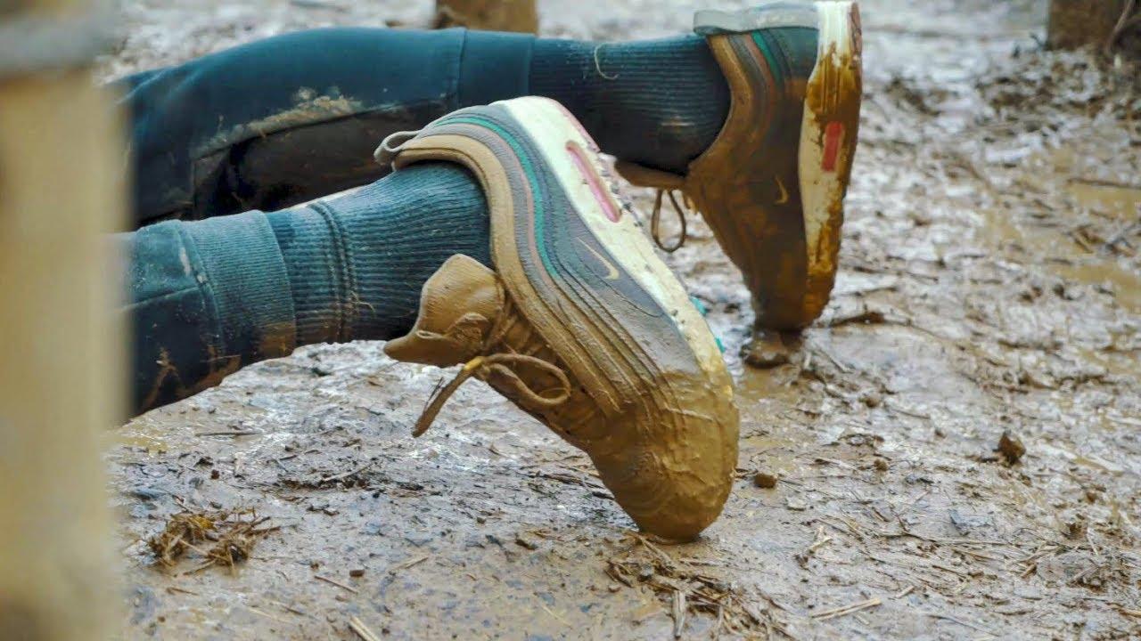 Une Nike Air Max 1/97 Sean Wotherspoon maltraitée !